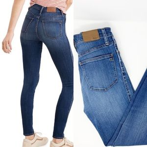 "Madewell High Rise 10""  Skinny Jeans"
